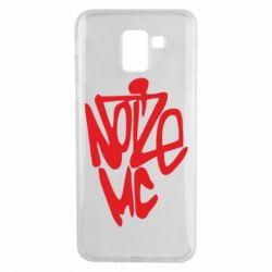 Чехол для Samsung J6 Noize MC