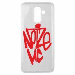 Чохол для Samsung J8 2018 Noize MC