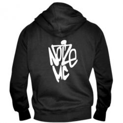 Мужская толстовка на молнии Noize MC - FatLine