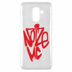 Чехол для Samsung A6+ 2018 Noize MC