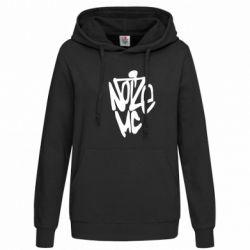 Женская толстовка Noize MC - FatLine