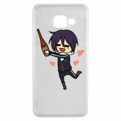 Чохол для Samsung A3 2016 Noragami and drink