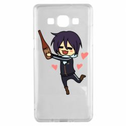 Чохол для Samsung A5 2015 Noragami and drink