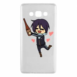 Чохол для Samsung A7 2015 Noragami and drink