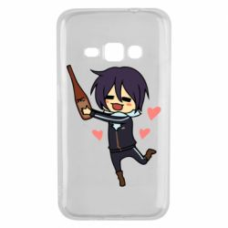 Чохол для Samsung J1 2016 Noragami and drink