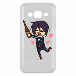 Чохол для Samsung J2 2015 Noragami and drink