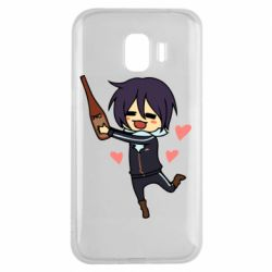 Чохол для Samsung J2 2018 Noragami and drink