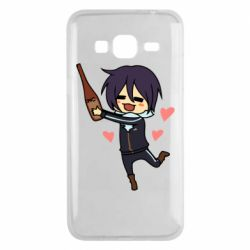 Чохол для Samsung J3 2016 Noragami and drink