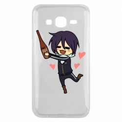 Чохол для Samsung J5 2015 Noragami and drink