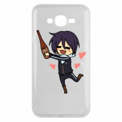 Чохол для Samsung J7 2015 Noragami and drink