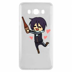 Чохол для Samsung J7 2016 Noragami and drink