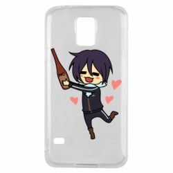 Чохол для Samsung S5 Noragami and drink
