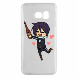 Чохол для Samsung S6 EDGE Noragami and drink