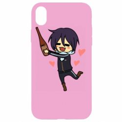 Чохол для iPhone XR Noragami and drink