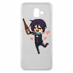 Чохол для Samsung J6 Plus 2018 Noragami and drink