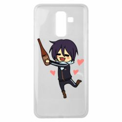 Чохол для Samsung J8 2018 Noragami and drink