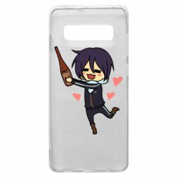 Чохол для Samsung S10+ Noragami and drink