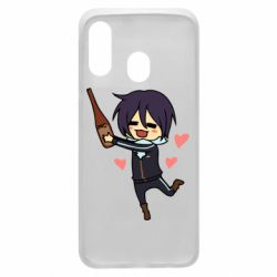 Чохол для Samsung A40 Noragami and drink