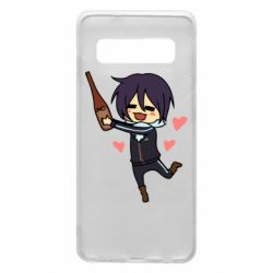 Чохол для Samsung S10 Noragami and drink