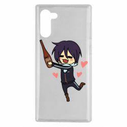 Чохол для Samsung Note 10 Noragami and drink