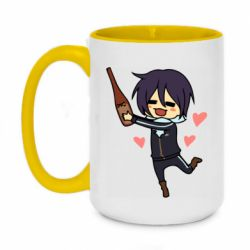 Кружка двоколірна 420ml Noragami and drink