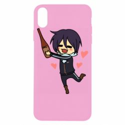Чохол для iPhone X/Xs Noragami and drink