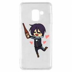 Чохол для Samsung A8 2018 Noragami and drink