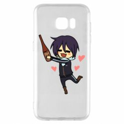 Чохол для Samsung S7 EDGE Noragami and drink