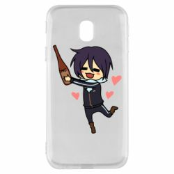 Чохол для Samsung J3 2017 Noragami and drink