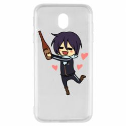 Чохол для Samsung J7 2017 Noragami and drink