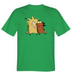 Мужская футболка Норберт и Деггет - FatLine