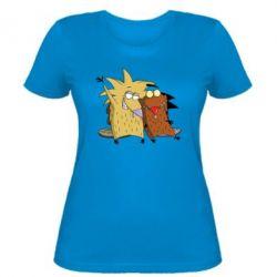 Женская футболка Норберт и Деггет - FatLine