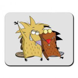 Коврик для мыши Норберт и Деггет - FatLine
