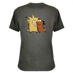 Камуфляжная футболка Норберт и Деггет - FatLine