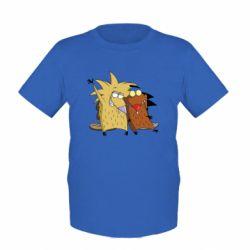 Детская футболка Норберт и Деггет - FatLine