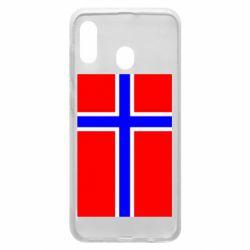 Чохол для Samsung A20 Норвегія