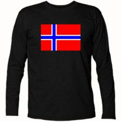 Футболка с длинным рукавом Норвегия - FatLine
