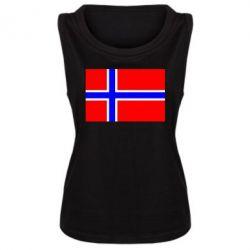 Женская майка Норвегия - FatLine