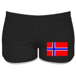 Женские шорты Норвегия - FatLine