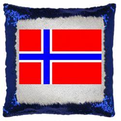 Подушка-хамелеон Норвегія