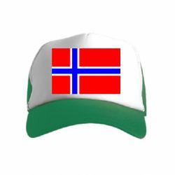 Дитяча кепка-тракер Норвегія