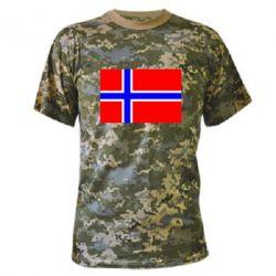 Камуфляжная футболка Норвегия - FatLine