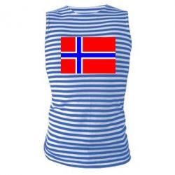 Майка-тельняшка Норвегия - FatLine