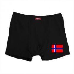 Мужские трусы Норвегия - FatLine