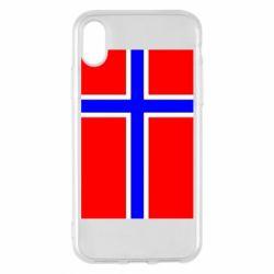 Чохол для iPhone X/Xs Норвегія
