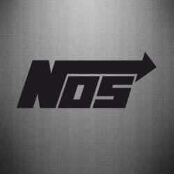 Наклейка Nos - FatLine