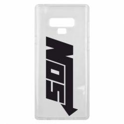 Чехол для Samsung Note 9 Nos