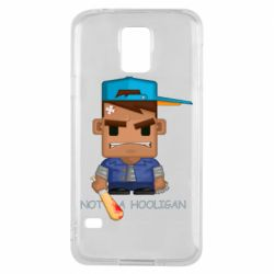 Чохол для Samsung S5 Not a hooligan