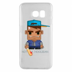 Чохол для Samsung S6 EDGE Not a hooligan