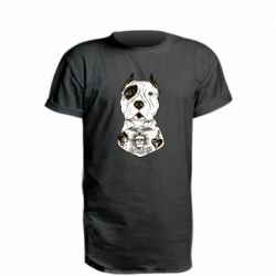 Удлиненная футболка Not a monster